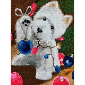 В ожидании рождества Алмазная вышивка мозаика Iteso