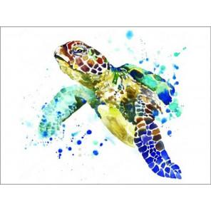 Черепаха Алмазная мозаика на подрамнике