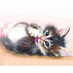 Милый котенок Алмазная мозаика на подрамнике
