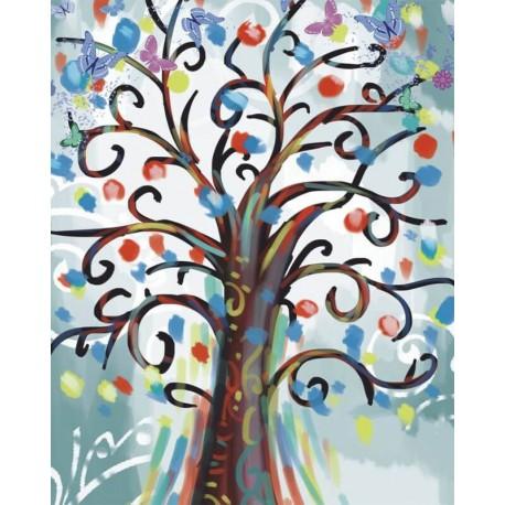Дерево желаний Алмазная мозаика на подрамнике