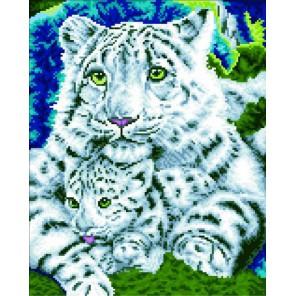 Нежная хищница Алмазная мозаика на подрамнике
