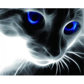 Синие глаза Алмазная мозаика на подрамнике