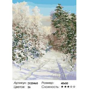 Количество цветов и сложность Царство тишины Раскраска картина по номерам акриловыми красками на холсте