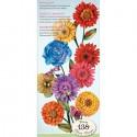 Цветы (Сад) Набор бумаги с вырубкой для скрапбукинга K&Company