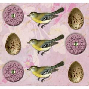 Птицы и яйца Стикеры для скрапбукинга, кардмейкинга K&Company