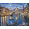 Венецианская ночь Раскраска ( картина ) по номерам на холсте Белоснежка