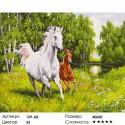 Количество цветов и сложность На воле Раскраска ( картина ) по номерам на холсте Белоснежка