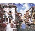 Венецианские дома Алмазная мозаика вышивка Painting Diamond