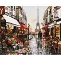 Париж Алмазная мозаика вышивка Painting Diamond