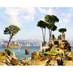 Древняя Греция Раскраска картина по номерам на холсте