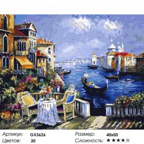 Венецианское кружево Раскраска картина по номерам на холсте