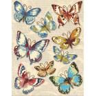 Бабочки (Нежный букет) Украшения для скрапбукинга, кардмейкинга K&Company