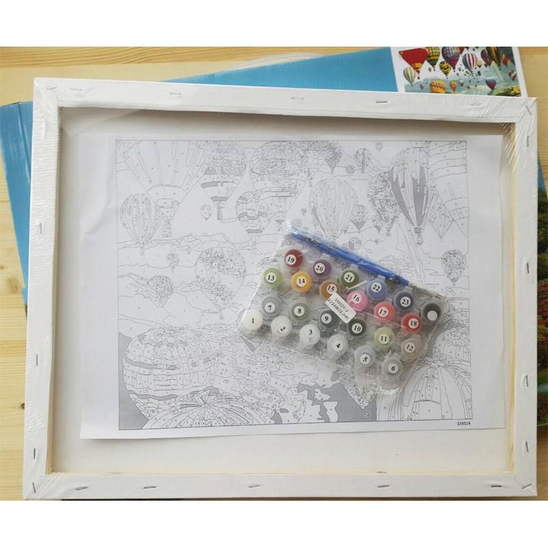 Раскраска по номерам Колокольный перезвон картина 40х50 см ...