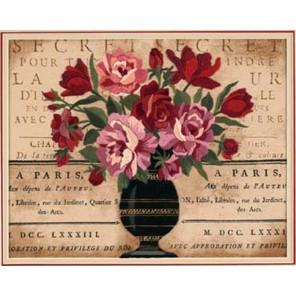 Парижский букет 01542 Набор для вышивания Dimensions ( Дименшенс )