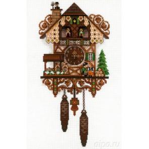 Часы с кукушкой Набор для вышивания Риолис