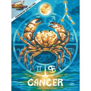 Рак (Знаки Зодиака) Раскраска картина по номерам Schipper (Германия)