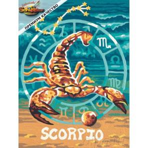 Скорпион (Знаки Зодиака) Раскраска картина по номерам Schipper (Германия)