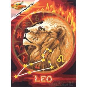 Лев (Знаки Зодиака) Раскраска картина по номерам Schipper (Германия)