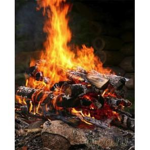 Сила огня Алмазная вышивка (мозаика) Color Kit