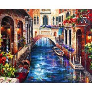 Цветущая Венеция Алмазная вышивка (мозаика) Color Kit