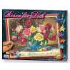 Подарочная упаковка Розы Раскраска по номерам Schipper (Германия)