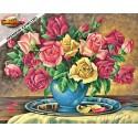 Розы Раскраска по номерам Schipper (Германия)