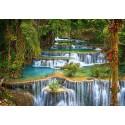Каскад водопадов Пазлы Castorland