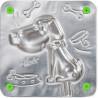 Собачка Форма для изготовления леденцов, конфет