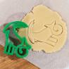 Козерог Форма для вырезания печенья и пряников