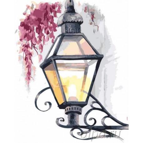 Таинственный свет Раскраска картина по номерам на холсте Menglei