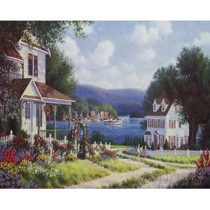 Лето на море Раскраска картина по номерам на холсте