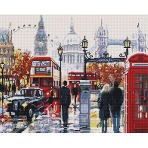 Прогулка по Лондону Алмазная мозаика вышивка на подрамнике Painting Diamond