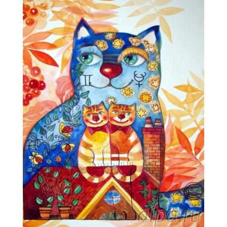 Раскраска по номерам Каты Петербурга картина 40х50 см на ...