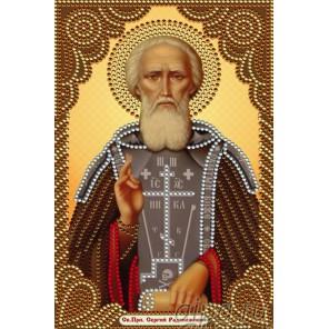Святой преподобный Сергий Радонежский Алмазная мозаика вышивка Painting Diamond