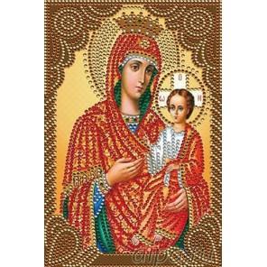 Икона Пресвятой Богородицы Алмазная мозаика вышивка Painting Diamond