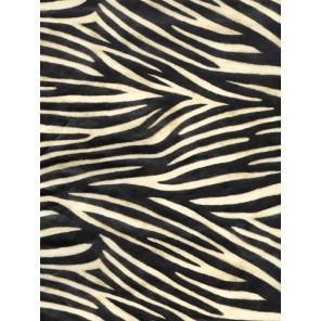 Зебра черно-бежевая Бумага для декопатча Decopatch