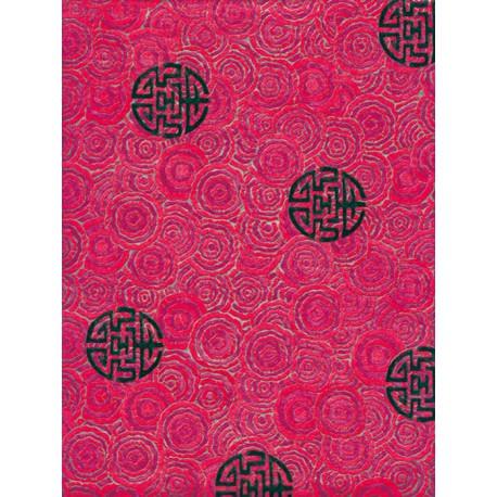 Восточный розово-фиолетовый Бумага для декопатча Decopatch