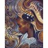 Африканские мотивы Раскраска картина по номерам на холсте