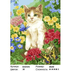 Количество цветов и сложность Летняя прогулка Раскраска картина по номерам на холсте
