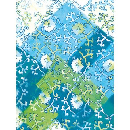 Лоскуты-цветочки Бумага для декопатча Decopatch