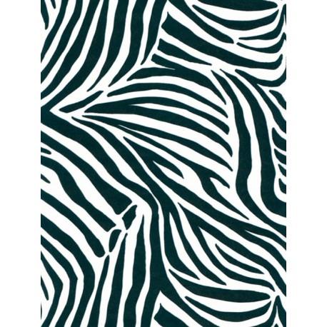 Зебра черно-белая Бумага для декопатча Decopatch