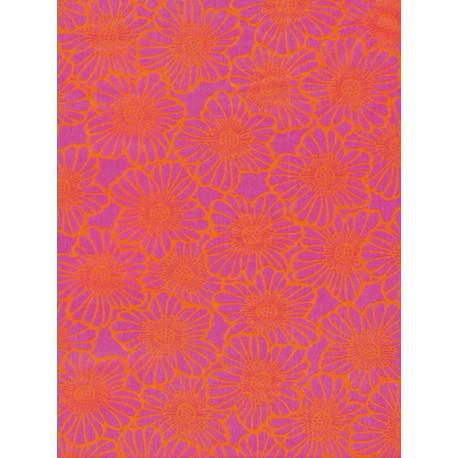 Резные цветы на мадженте Бумага для декопатча Decopatch