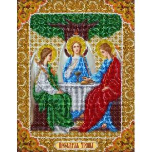 Святая Троица Набор для частичной вышивки бисером Паутинка