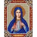Святая Мария Магдалина Набор для частичной вышивки бисером Паутинка