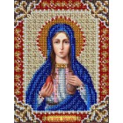Святая Мария Набор для частичной вышивки бисером Паутинка