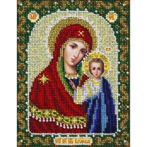Богородица Казанская Набор для частичной вышивки бисером Паутинка