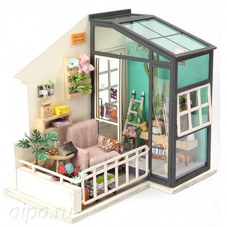 Балкон мечты Набор для создания миниатюры румбокс