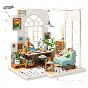 Домашний кабинет Набор для создания миниатюры румбокс