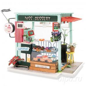 Кондитерский магазинчик Набор для создания миниатюры румбокс