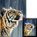Индийский тигр Алмазная вышивка мозаика Гранни
